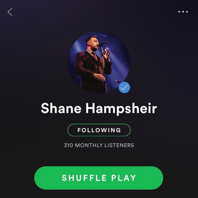 Finally got my blue tick on spotify which now means