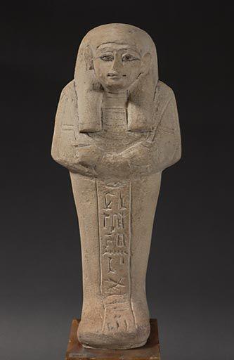 Pahery, scribe du temple de Ptah. Sérapéum. Saqqarah.