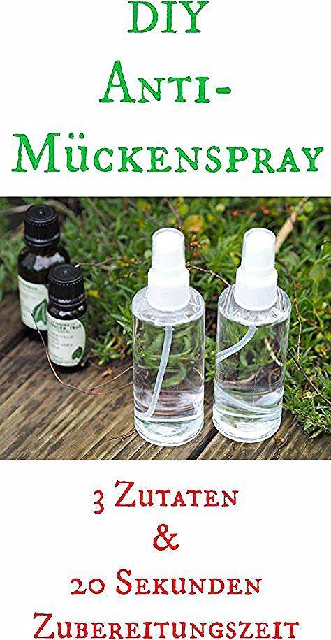 Diy Muckenspray 3 Zutaten Und 1 Minute Zubereitungszeit Food