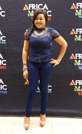 Nkiru Sylvanus at the AMVCA nominees brunch #Nigerian