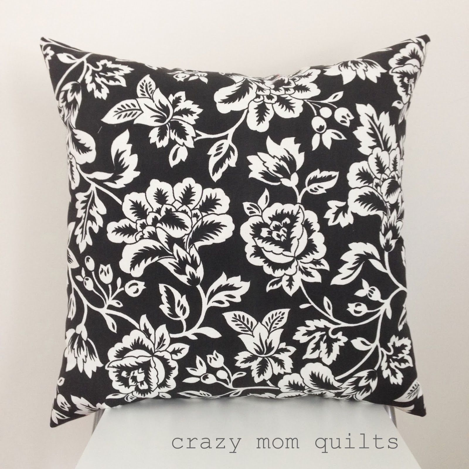 One way to make a pillow form crazy mom tutorials and cross stitching