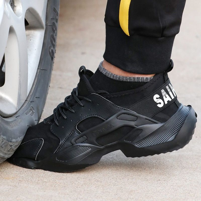 Work Safety Shoes Men Boots 2020 New Sneakers Anti Smashing Indestructible Shoes Puncture Pro Mens Shoes Boots Boots Men Work Boots