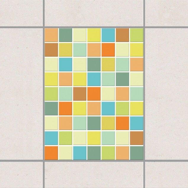 Fliesenaufkleber Mosaik Selbstklebende Mosaikfliesen Sommerset