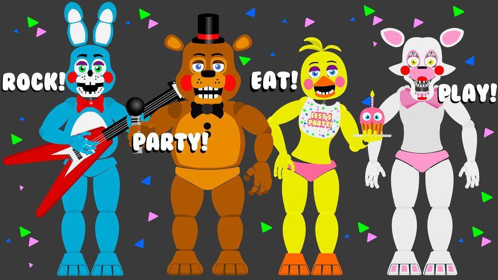 FNAF 2 toys poster by hookls on DeviantArt | Five nights at Freddy's