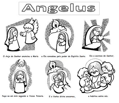 Fichas De Lasmelli Angelus Católicos Pinterest Religion