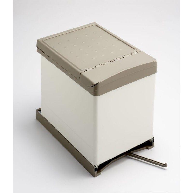 Cubo De Reciclaje Elegante Para Armario De 45cm 2x16l Cubo Basura Reciclaje Cubos Reciclaje Cubos