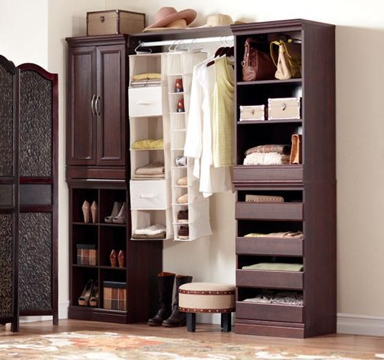 Prefab Kitchen Cabinets Home Depot: Manhattan Modular Open Storage