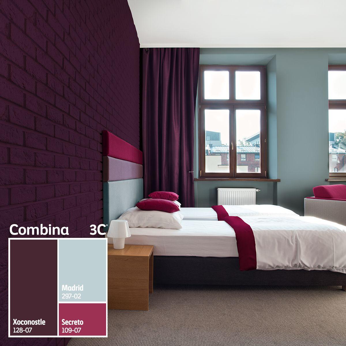 Xoconostle Un Color Intenso Que Llenar Tus Ambientes De Energ A  ~ Combinacion De Colores Para Paredes