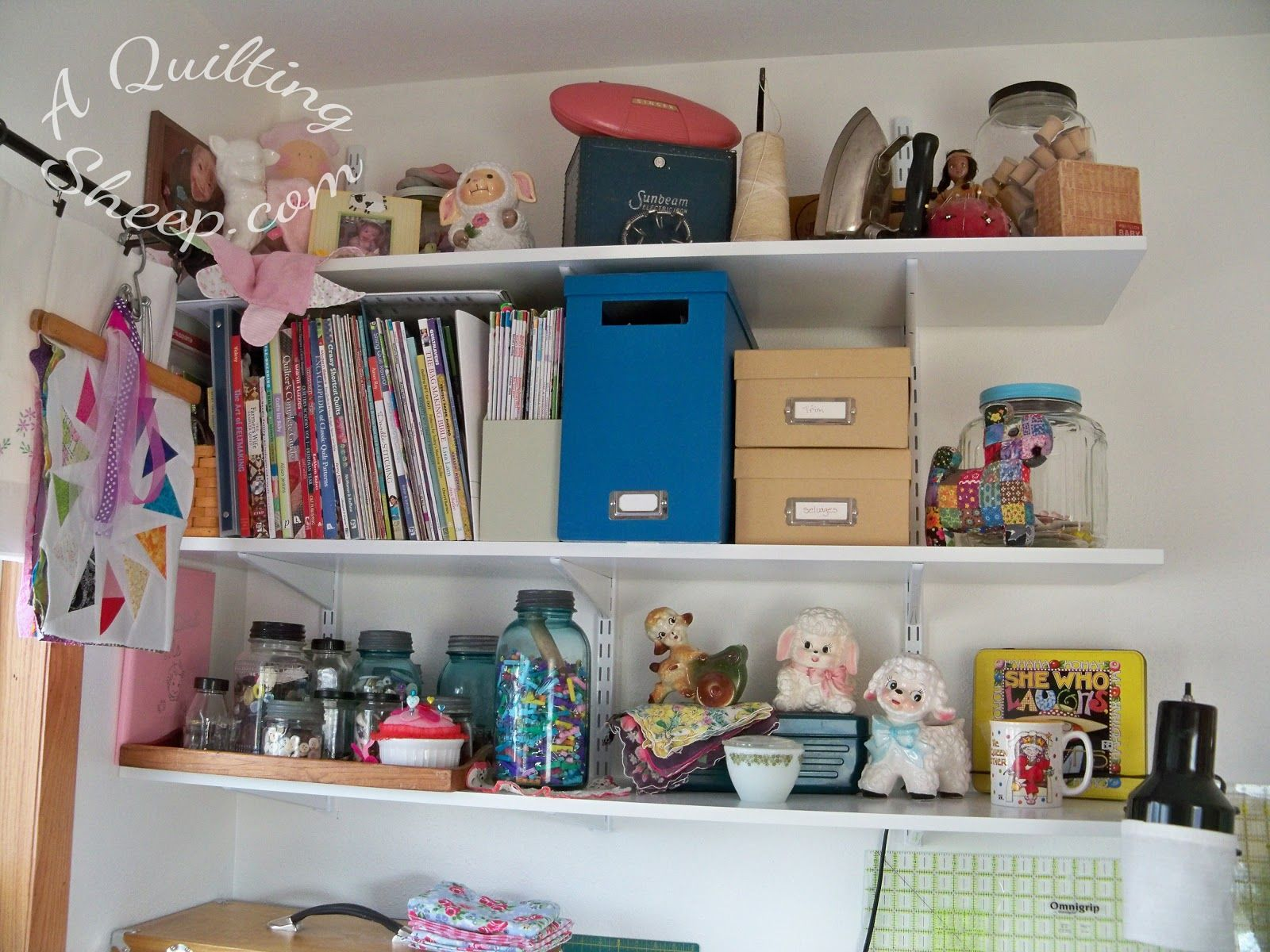 A Quilting Sheep: New Sewing Room