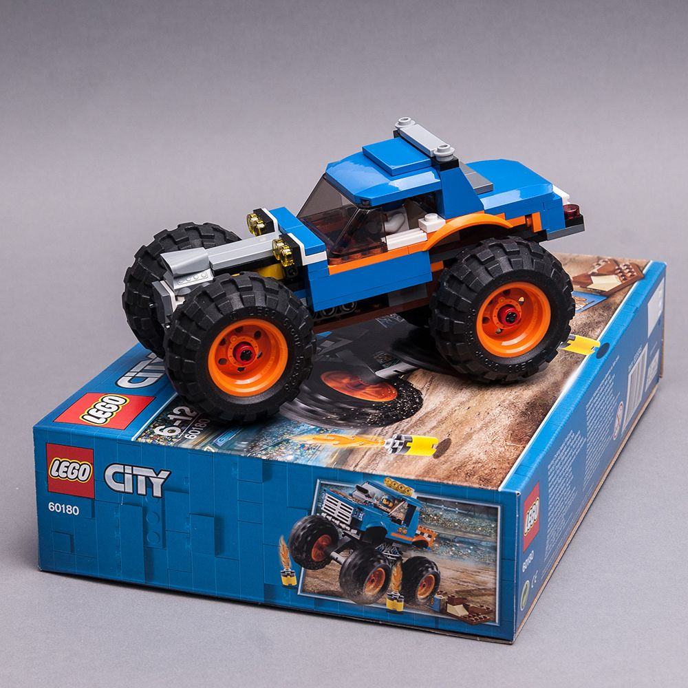 60180 Different Monster Truck Lego Truck Lego Cars Cool Lego