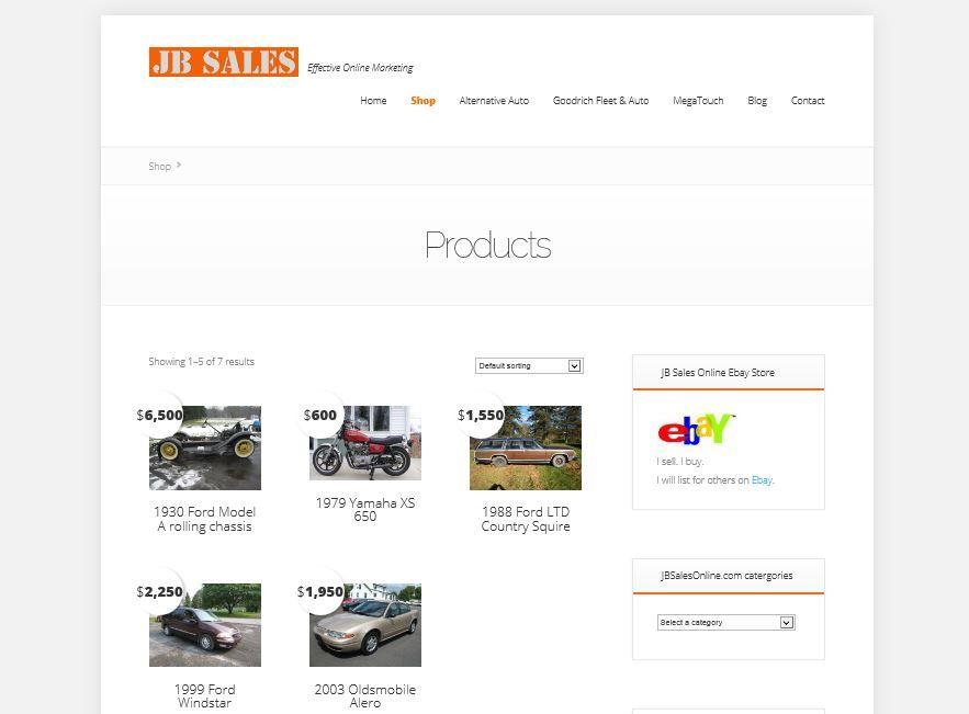 Jb Sales Online Http Jbsalesonline Com Shop Shopping Ford Ltd Online