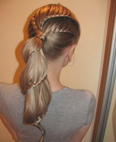 Braided Movie Star Hairstyles For Prom 2012 Hair Styles Long Hair Styles Cool Hairstyles