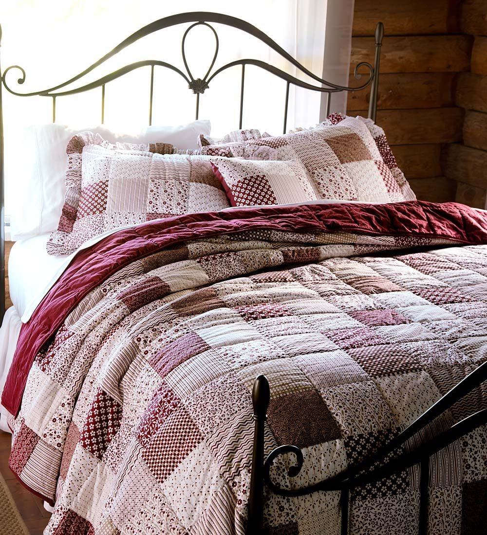 King Rebecca Quilt Set Collection Accessories Quilt Sets Country Cottage Bedroom Quilt Sets Bedding