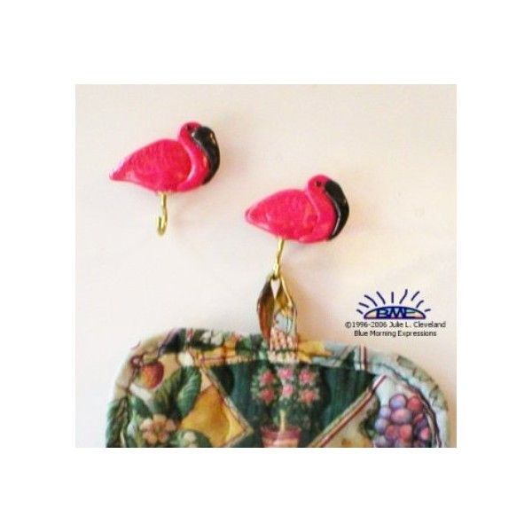 Flamingo Kitchen #Magnets , Fridge Magnets, Refrigerator Magnets, Potholder Magnets