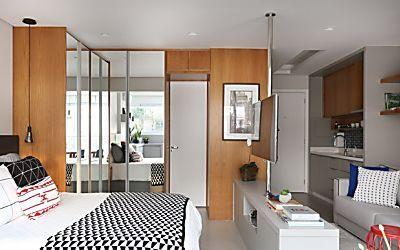 Apartamento pequeno: veja 5 soluções para ampliar o espaço |   ❥