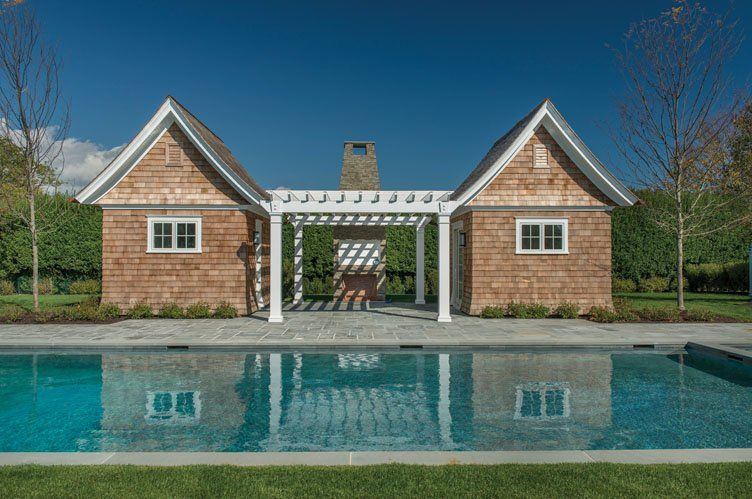 Cute poolhouse