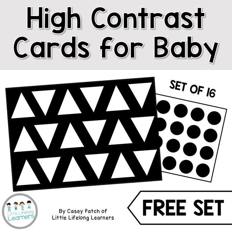 High Contrast Visual Stimulation For Newborns And Babies High