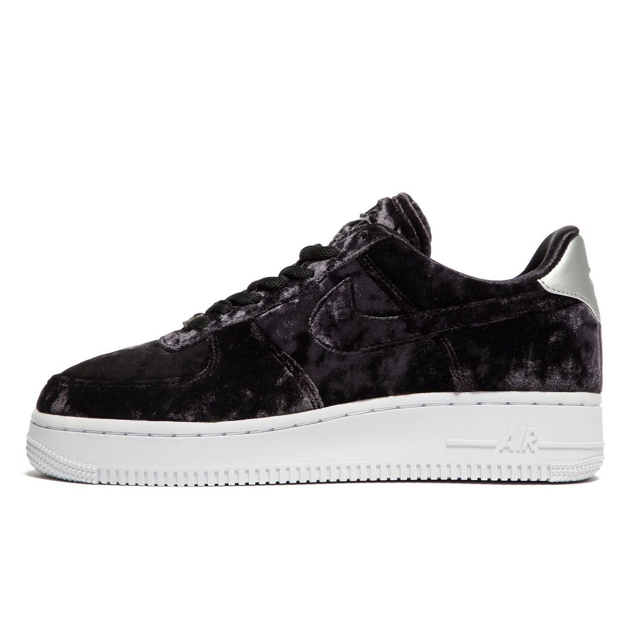 Nike Air Force 1 Velvet Dames | Zwart
