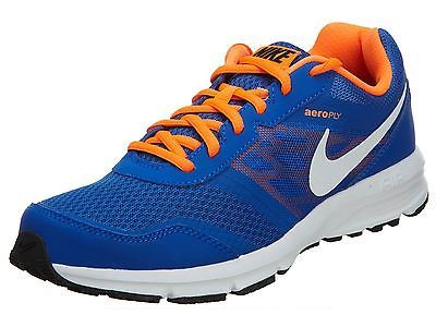 a3e4cd3455330 Nike Air Relentless 4 Msl Mens 685139-400 Lyon Blue Orange Running Shoes Sz  8