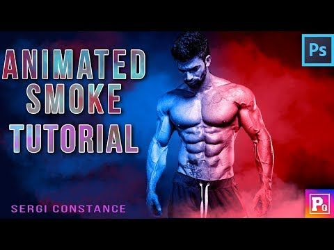Animated Smoke Effect    FREE ACTION DOWNLOAD    Photoshop Tutorial