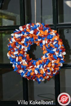 Wreath for Kings Day and Balloon Liberation Day!