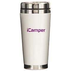 $19.99 iCamper Call of Duty and any other First Person Shooter travel mug!  We love to camp in our game!