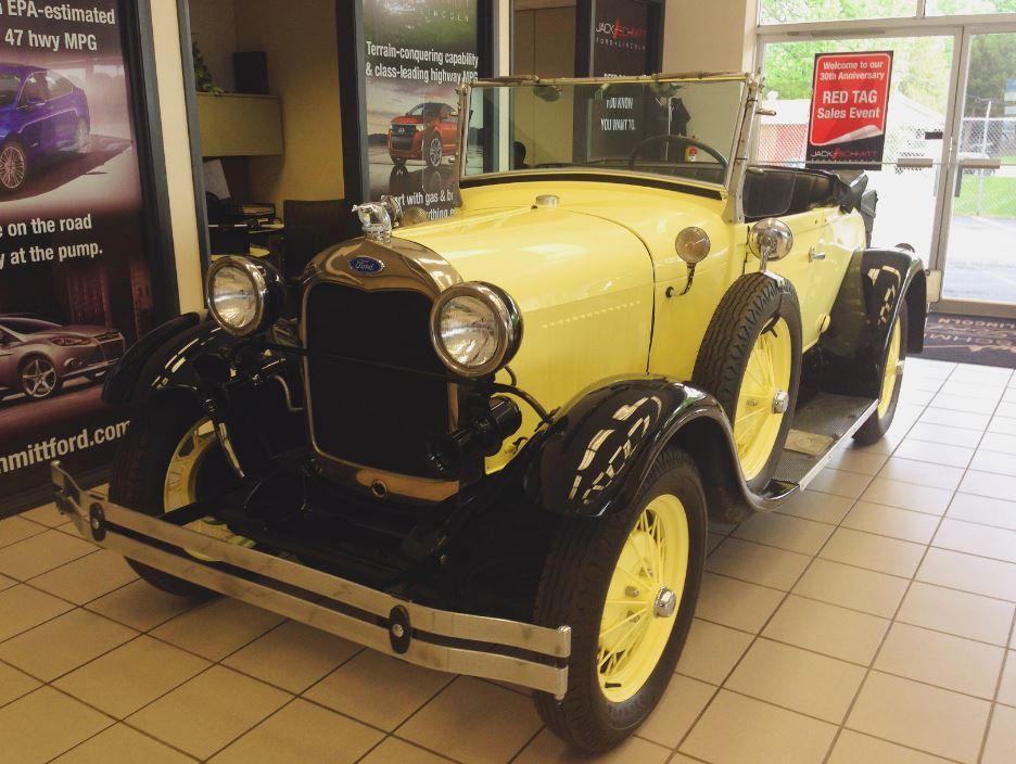 Jack Schmitt's own Ford Model A!