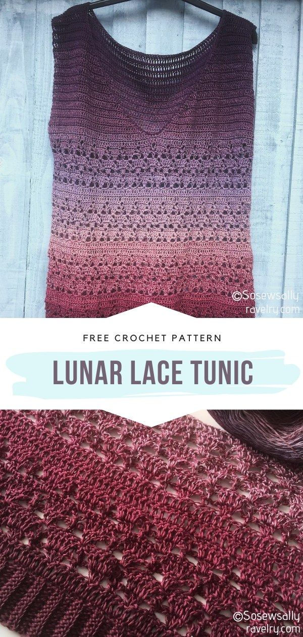 How to Crochet Lunar Lace Tunic