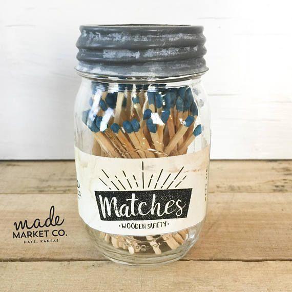 Unique Wooden Mason Jar Tags