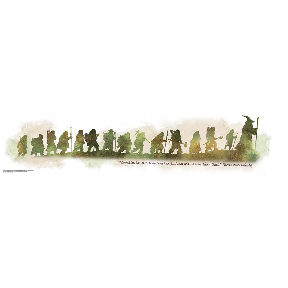 The Hobbit An Unexpected Journey Quote Wall Decals Rmk2161scs My