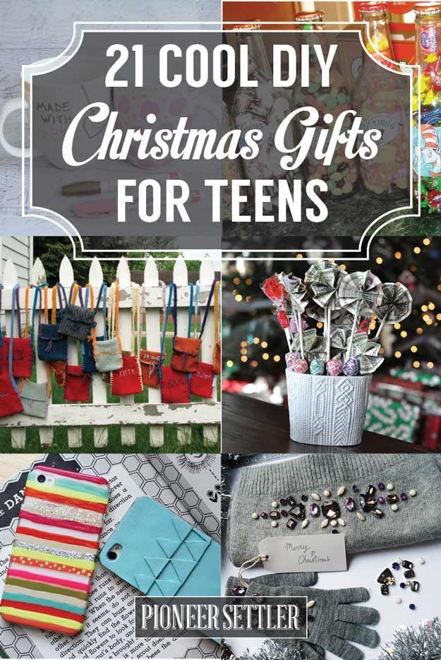 diy christmas gifts for teens
