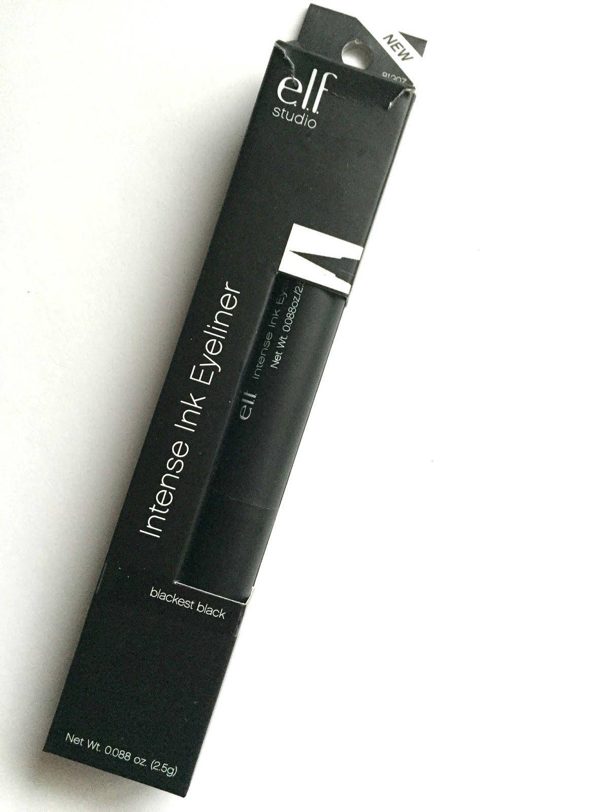 BELLYNIM E.L.F Intense Ink Eyeliner Eyeliner, Ink, Intense