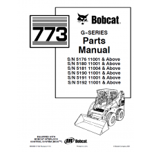 Bobcat 773 G Series Skid Steer Loader Parts Manual Pdf Veci Ktere