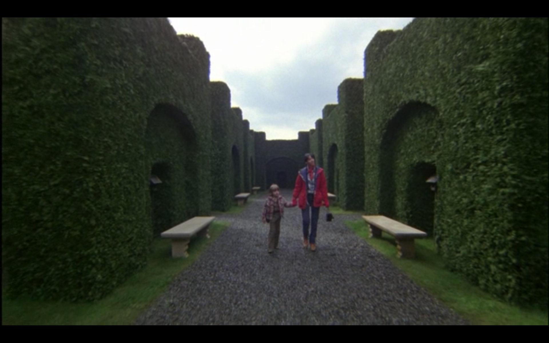 "Castle Topiary Movie "" Shining"" Secret"
