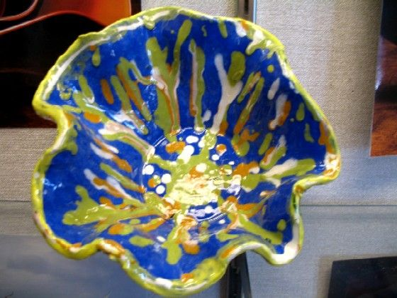 Chihuly clay vessels