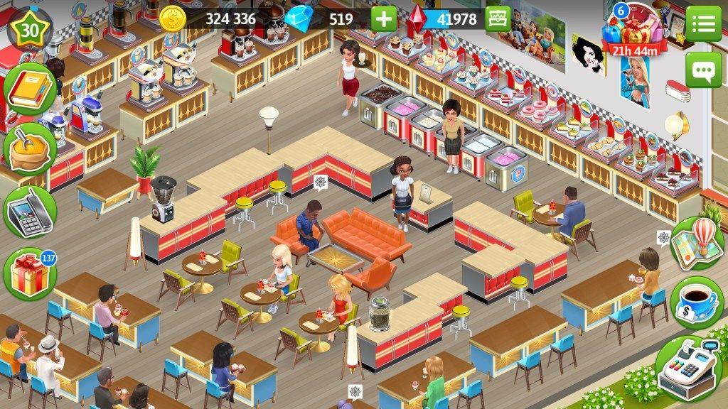 My Cafe Recipes Stories The Cheekie Geek Desain Game Desain Karakter Game