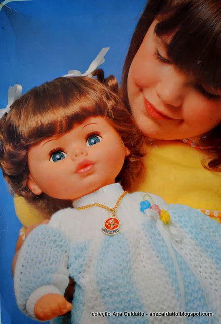 Ana Caldatto : Boneca Mimadinha da Estrela de 1980