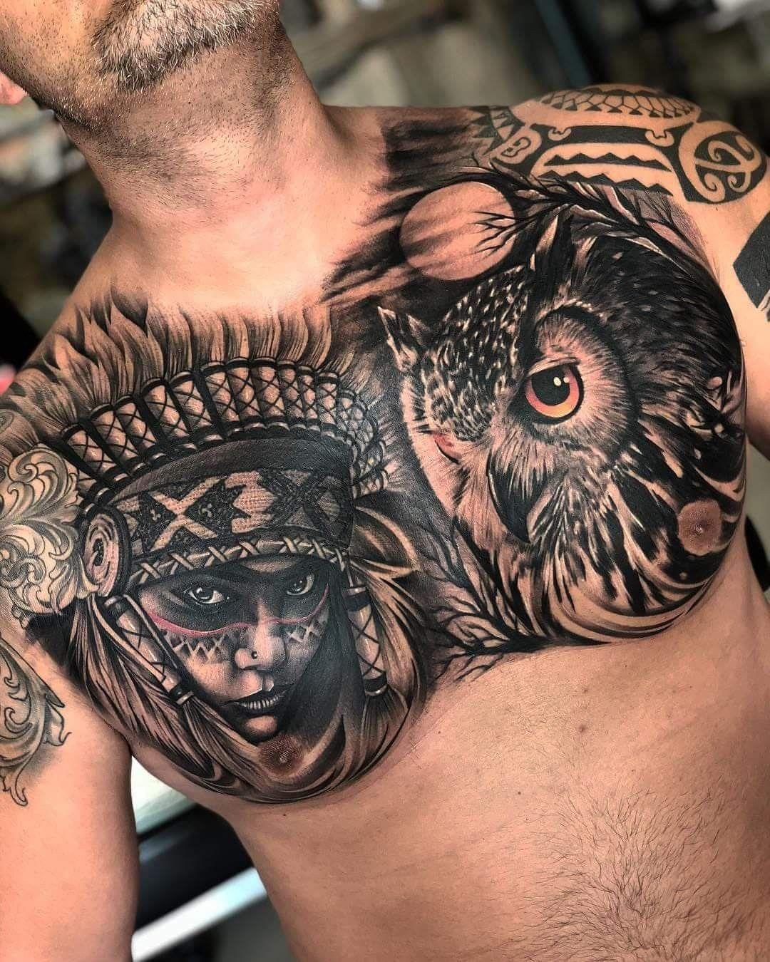 Chest Tattoo Virgen Maria Tatuajes Para Hombres Tatuajes