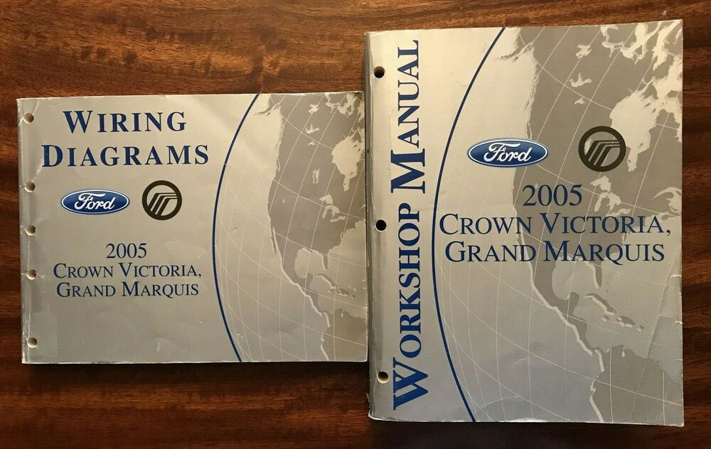 2005 Ford Crown Victoria Grand Marquis Workshop Manual And Wiring Diagrams Ebay Grand Marquis Ford Marquise