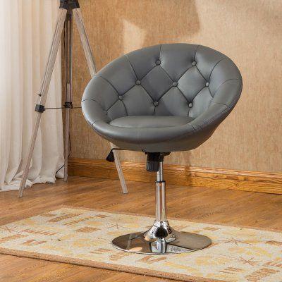 Phenomenal Roundhill Furniture Noas Contemporary Adjustable Height Tilt Cjindustries Chair Design For Home Cjindustriesco
