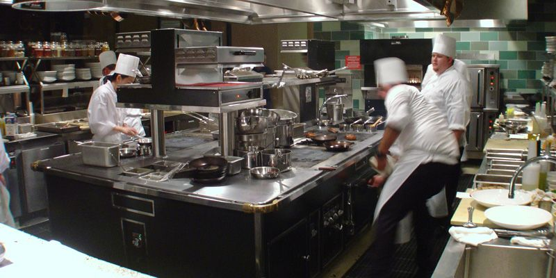 Chinese Restaurant Kitchen Equipment dear lissy: ten top lessons from restaurant kitchens | homemaking