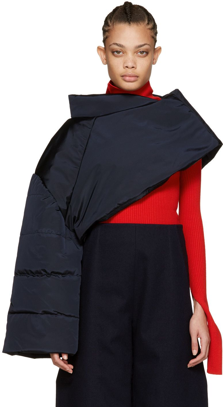 Jacquemus - Navy 'La Cape Doudoune' Top