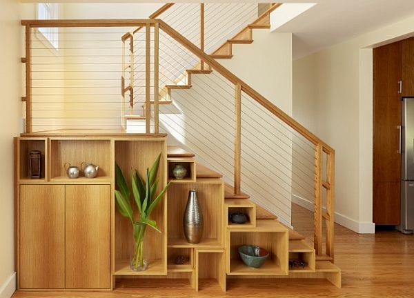 Box Shelving Creating Purposeful Wall Art Stairs Design Stair Shelves Staircase Shelves