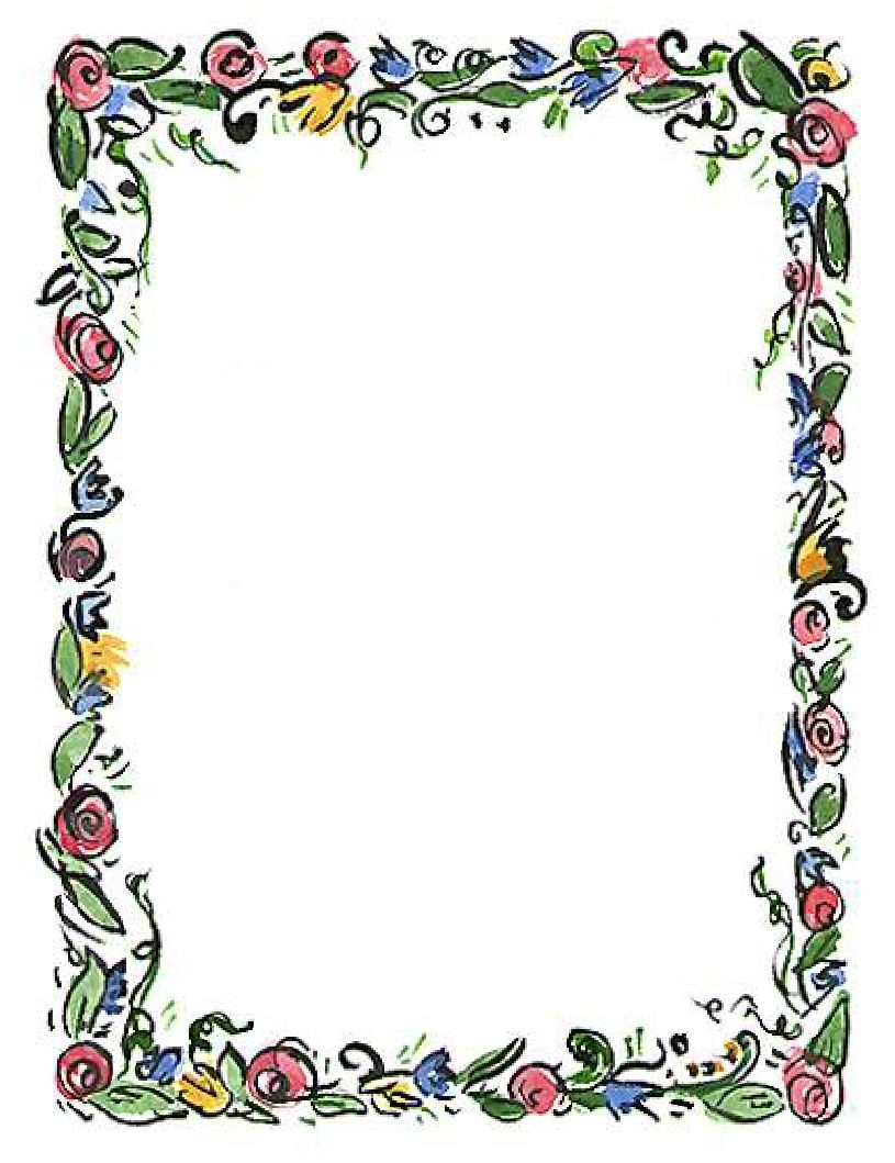 spring flower border clipart clipart panda free clipart images rh pinterest com spring page border clipart spring flowers border clipart free