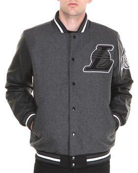 Los Angeles Lakers Bogue Varsity Jacket By Nba Mlb Nfl Gear Los Angeles Lakers Nfl Gear Varsity Jacket