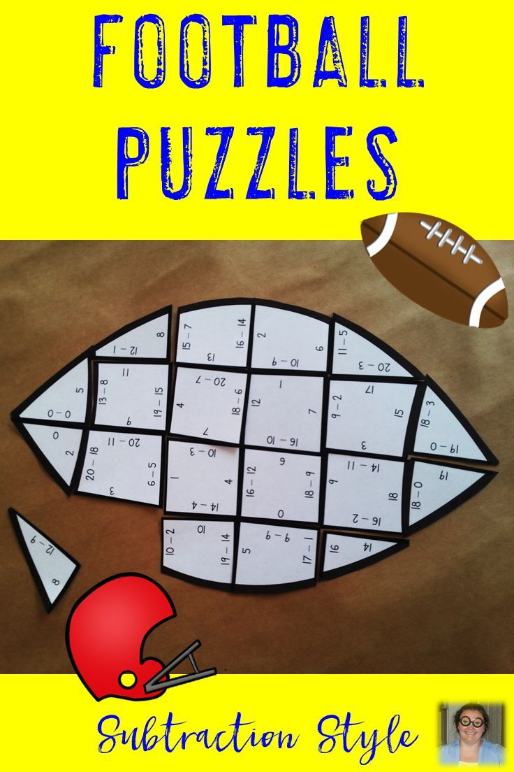 Do Your Students Love Football Use That Love To Your Advantage By Giving Them Football Theme Math Centers Math Stations Football Math Activities Math Centers [ 1104 x 736 Pixel ]