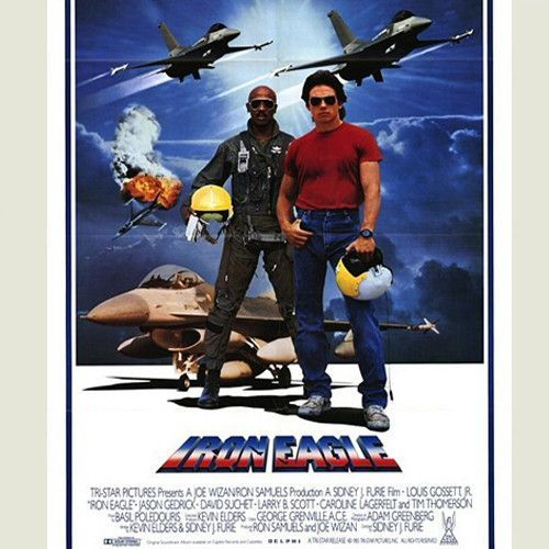 Iron Eagle Motion Picture Soundtrack Cassette Filmes 1080p E