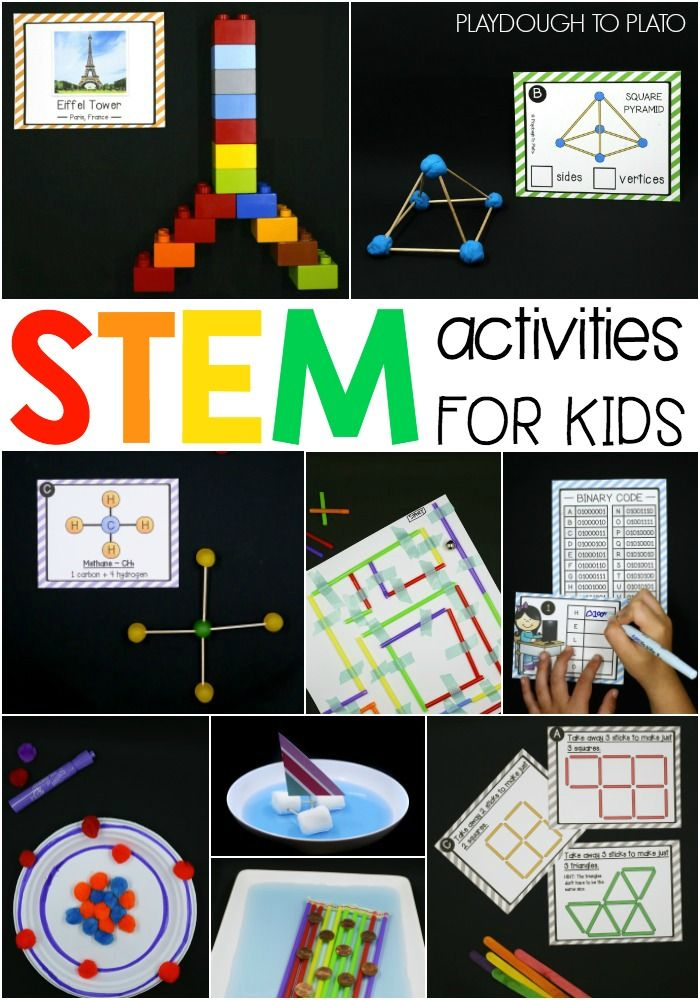 40 STEM Activities for Kids | Awesome, Apraxia and Girl scouts