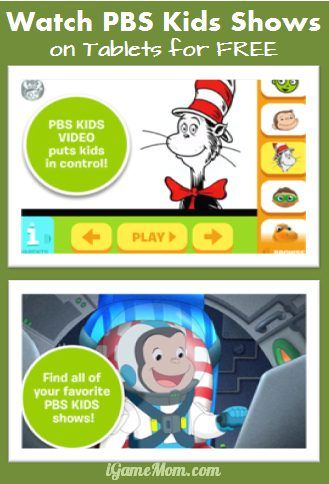 watch PBS Kids shows on the go on iPad for Free #kidsapps | iGameMom ...