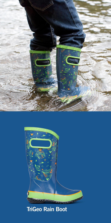 Bogs Rainboot Trigeo Lightweight Waterproof Kid S Rain Boot Rain Boots Boots Kids Rain Boots